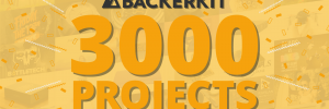 BackerKit Celebrates 3,000 Projects