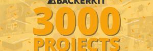 BackerKit Celebrates 3,000 Projects